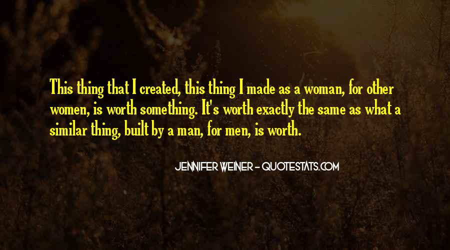 Quotes About God Created Woman #230812