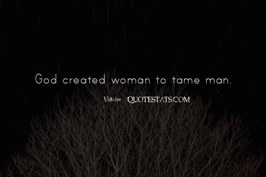 Quotes About God Created Woman #499911