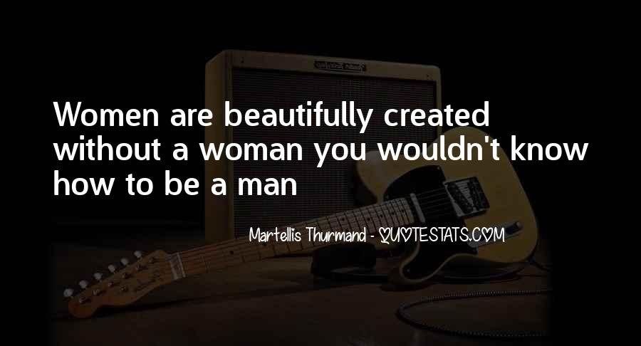 Quotes About God Created Woman #52479