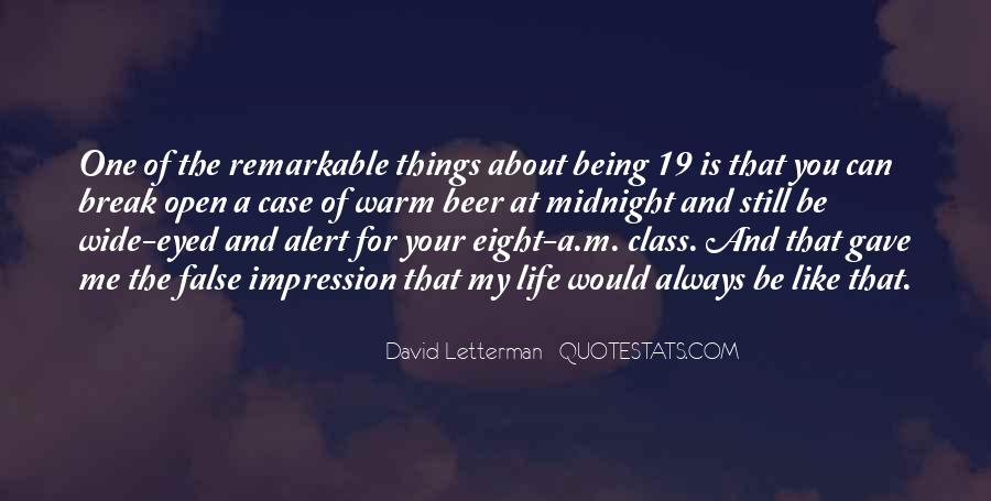 Quotes About Being Remarkable #1068124