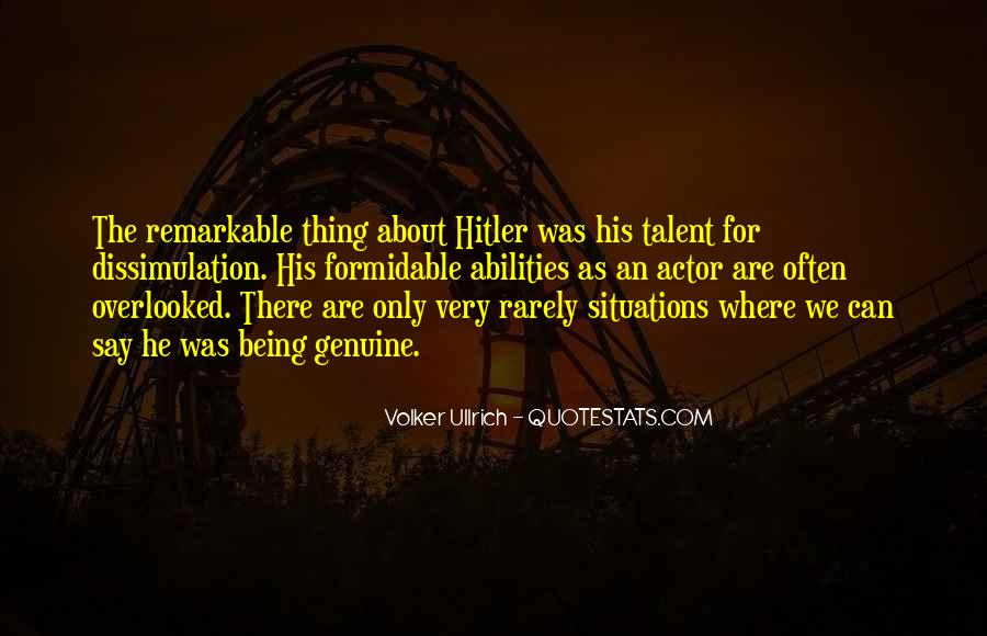 Quotes About Being Remarkable #1190581