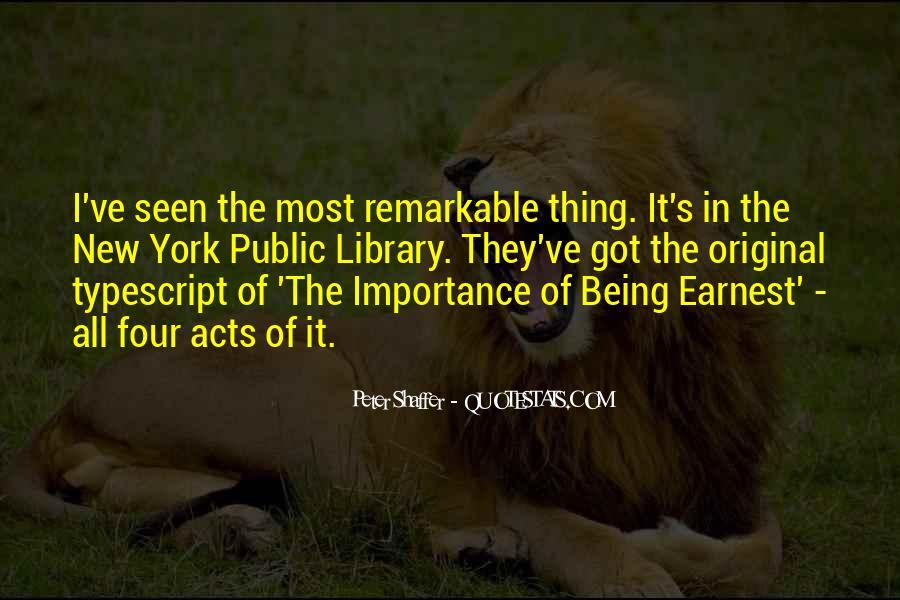 Quotes About Being Remarkable #475521