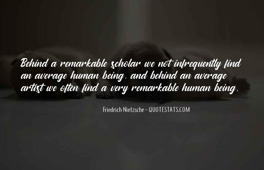 Quotes About Being Remarkable #614998