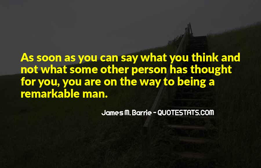 Quotes About Being Remarkable #868689