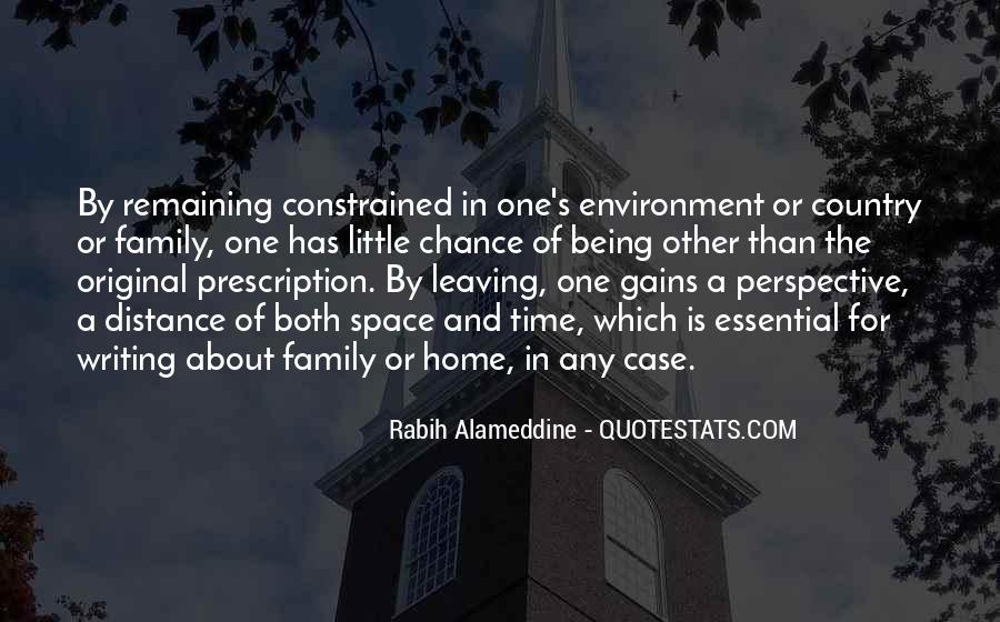 Quotes About Family Leaving Home #230561