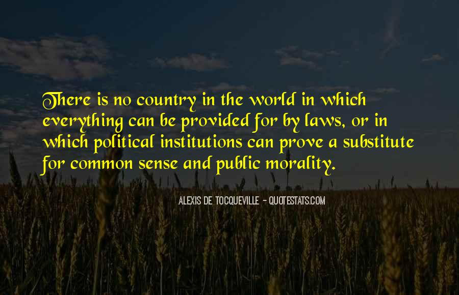 Quotes About Political Institutions #1040233