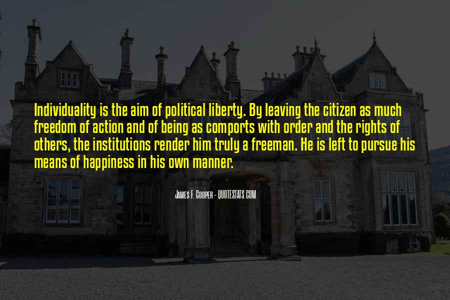 Quotes About Political Institutions #243231