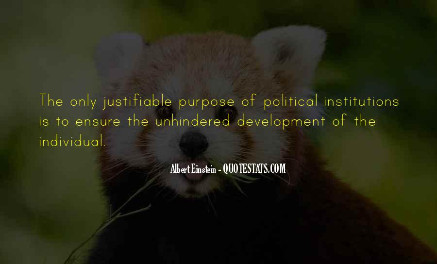 Quotes About Political Institutions #944499