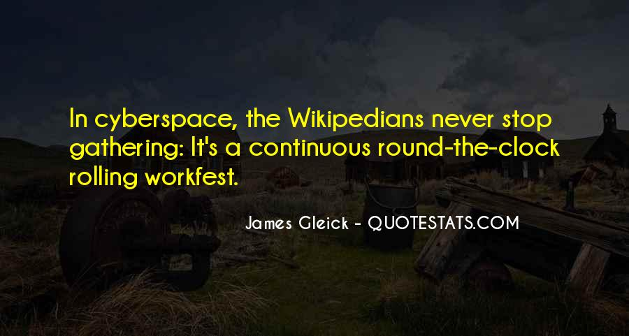 Quotes About Cyberspace #1146882