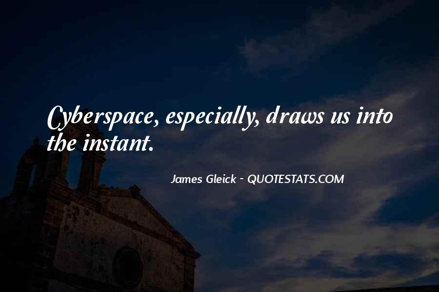 Quotes About Cyberspace #1190143