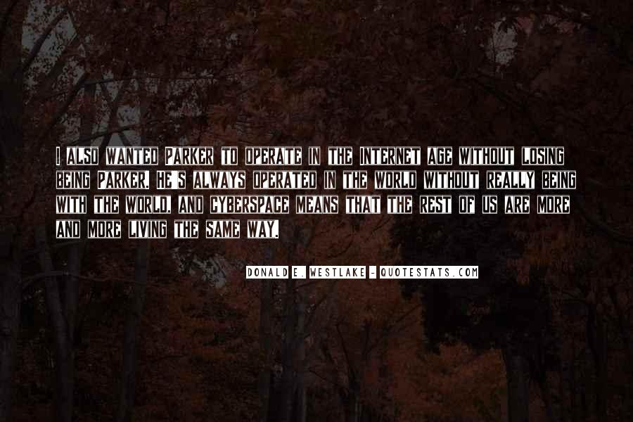 Quotes About Cyberspace #122453