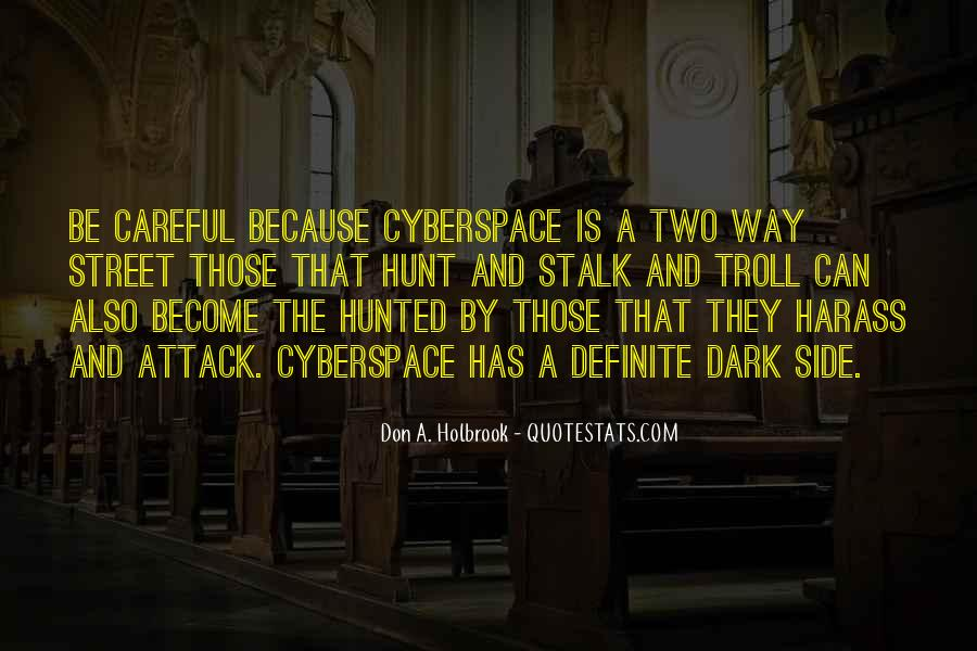 Quotes About Cyberspace #1244540