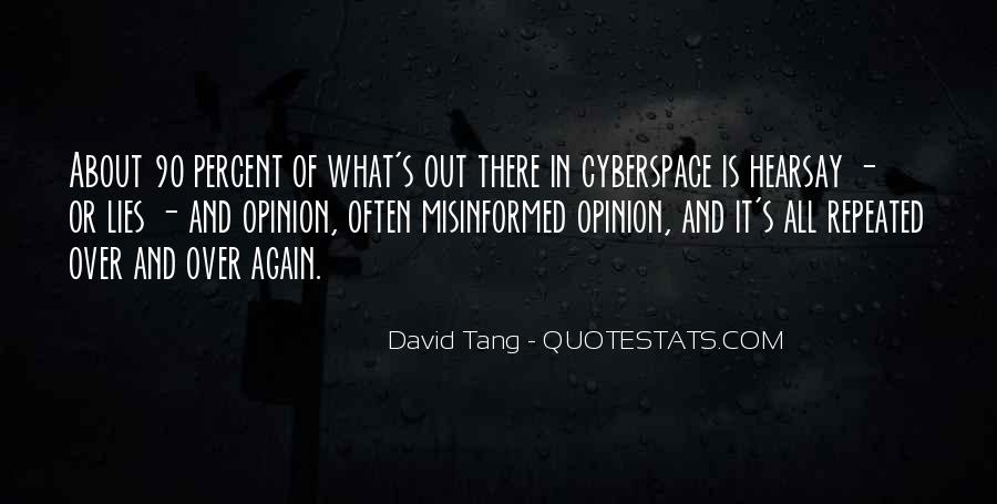 Quotes About Cyberspace #1473131