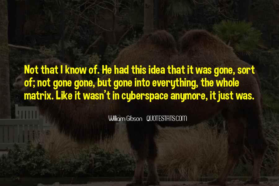Quotes About Cyberspace #1490848