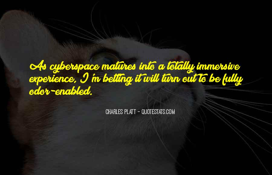 Quotes About Cyberspace #1635580