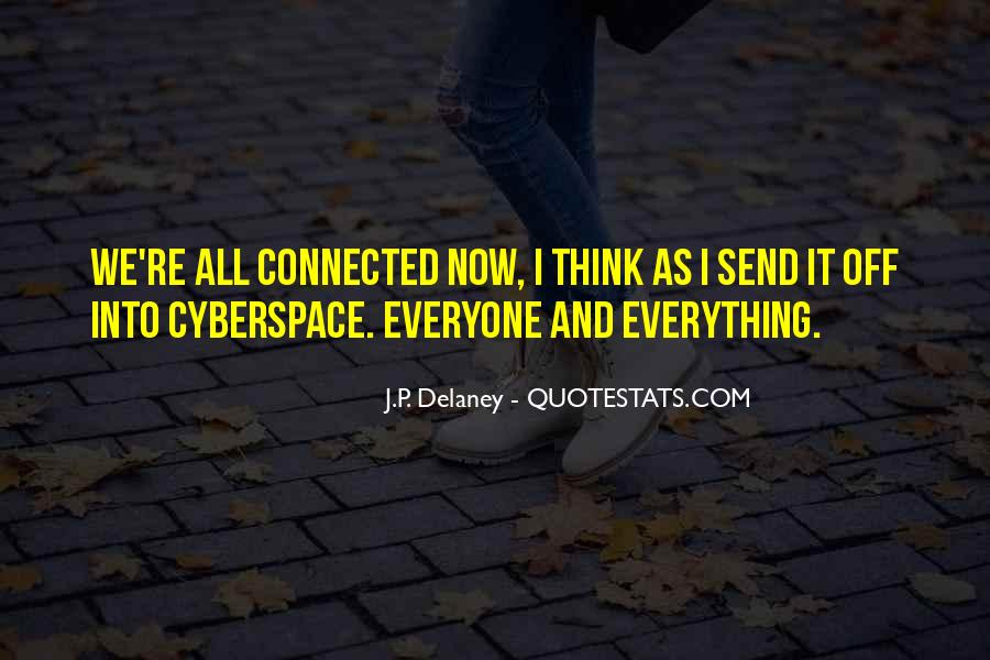 Quotes About Cyberspace #1646490