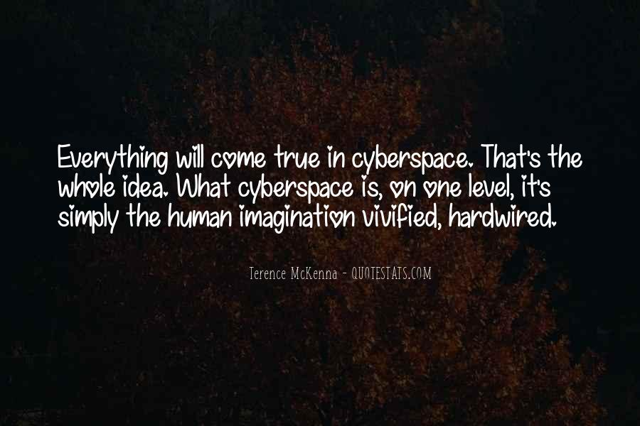 Quotes About Cyberspace #1726423
