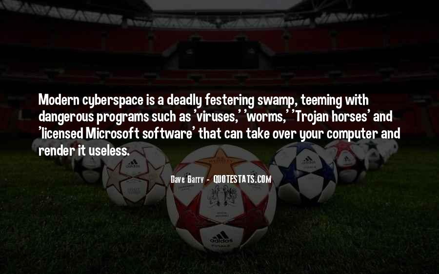 Quotes About Cyberspace #206571