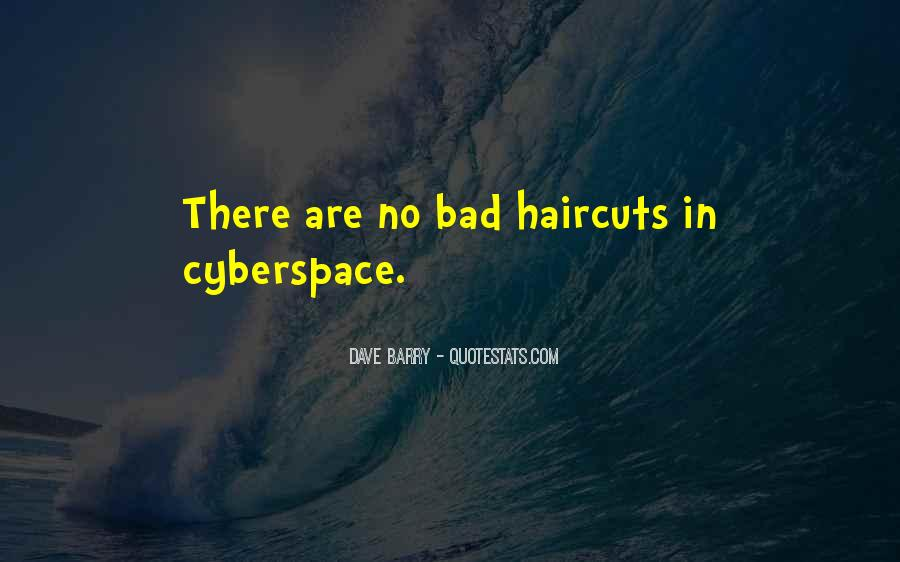 Quotes About Cyberspace #244314