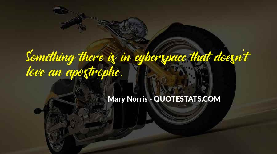 Quotes About Cyberspace #256440