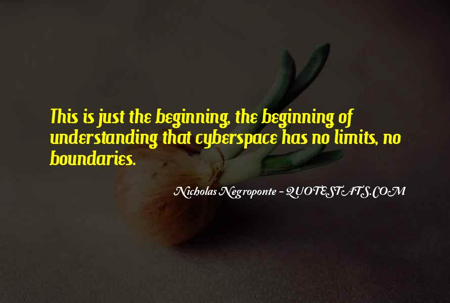 Quotes About Cyberspace #291402
