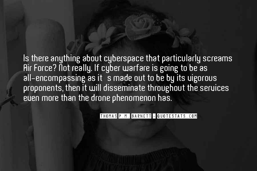 Quotes About Cyberspace #412473