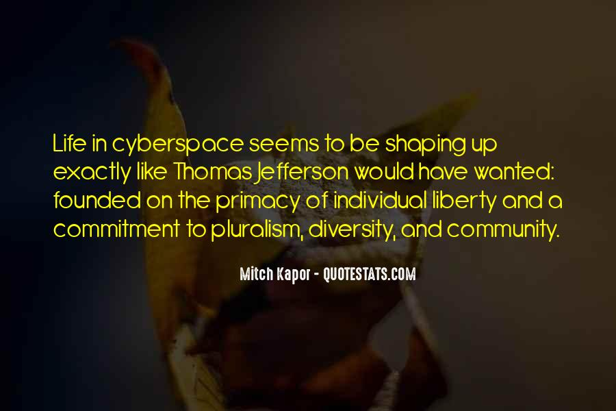 Quotes About Cyberspace #538406