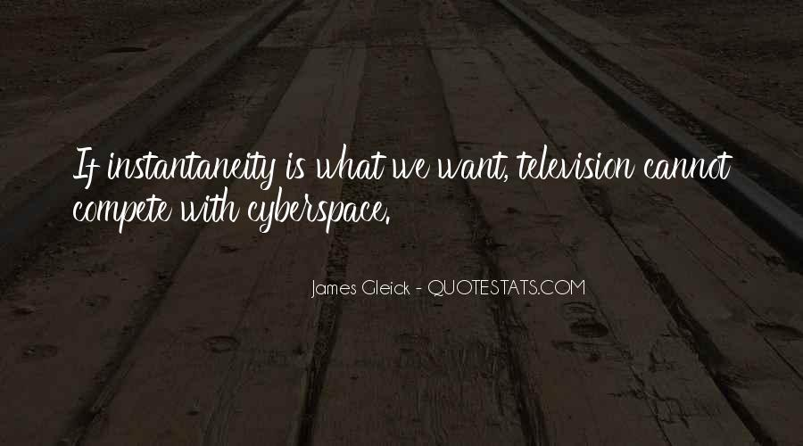 Quotes About Cyberspace #820717