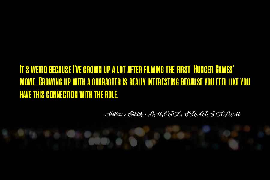 Quotes About The Hunger Games Movie #496859