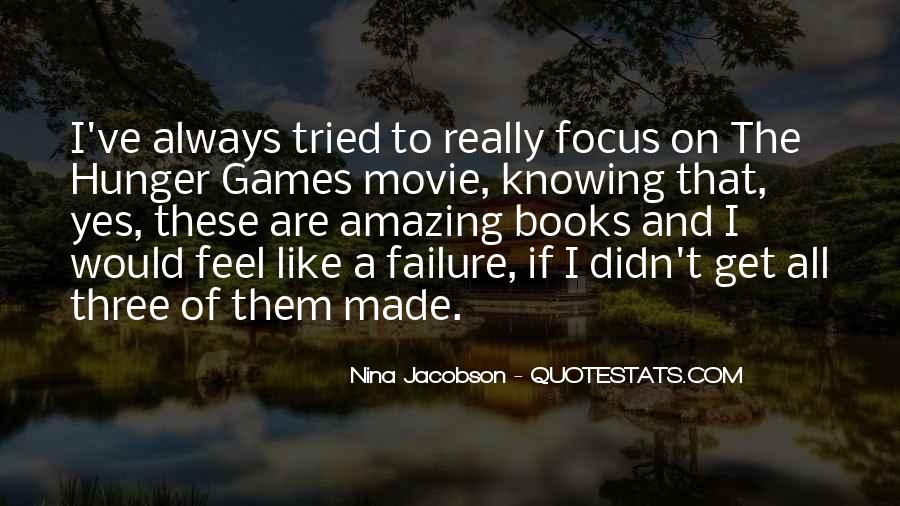 Quotes About The Hunger Games Movie #610374