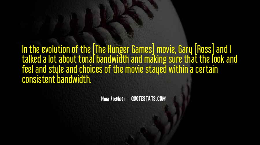Quotes About The Hunger Games Movie #90711