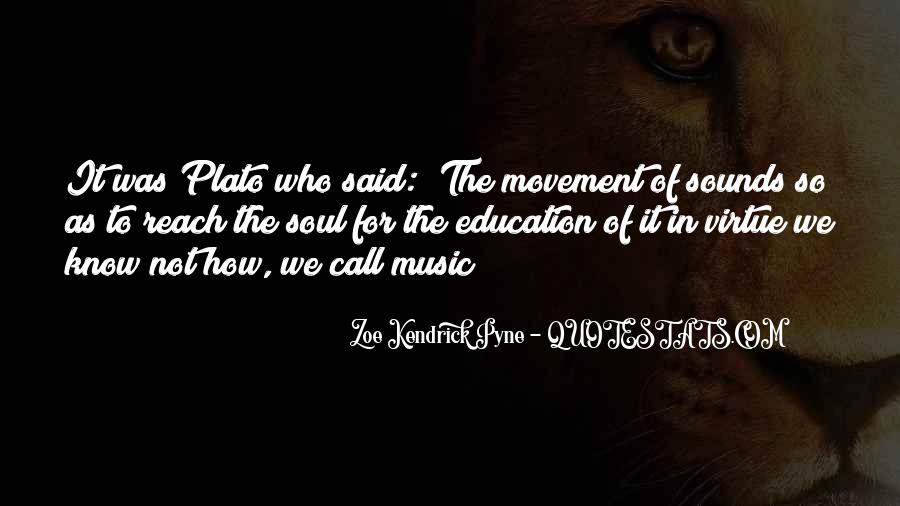 Quotes About Music Plato #1370172
