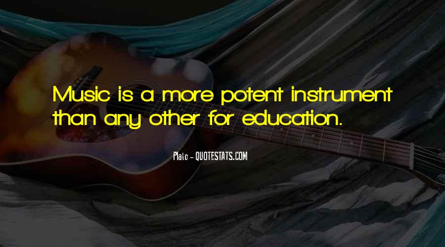 Quotes About Music Plato #1813139
