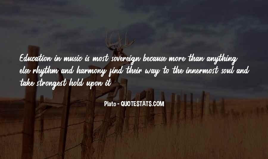 Quotes About Music Plato #220658