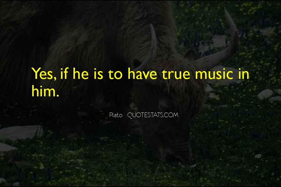 Quotes About Music Plato #531149