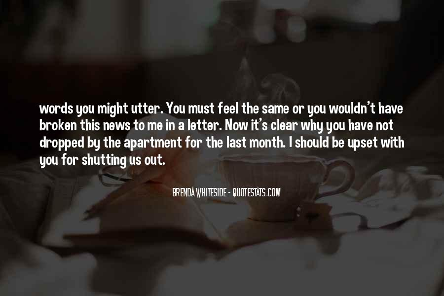 Quotes About Shutting Me Out #1094905