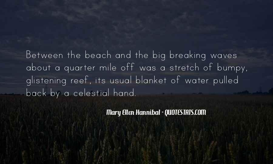 Quotes About Waves Breaking #126272
