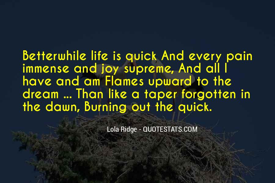 Quotes About Dawn And Life #1242237