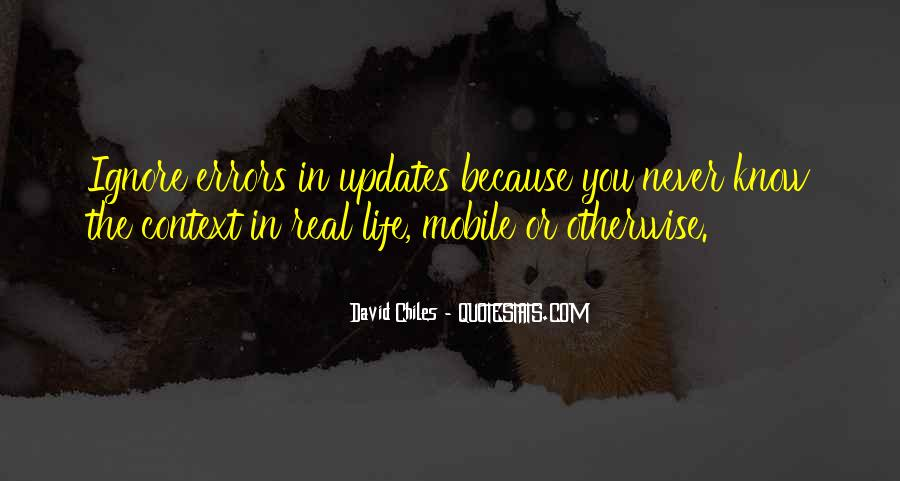 Quotes About Updates #1849634