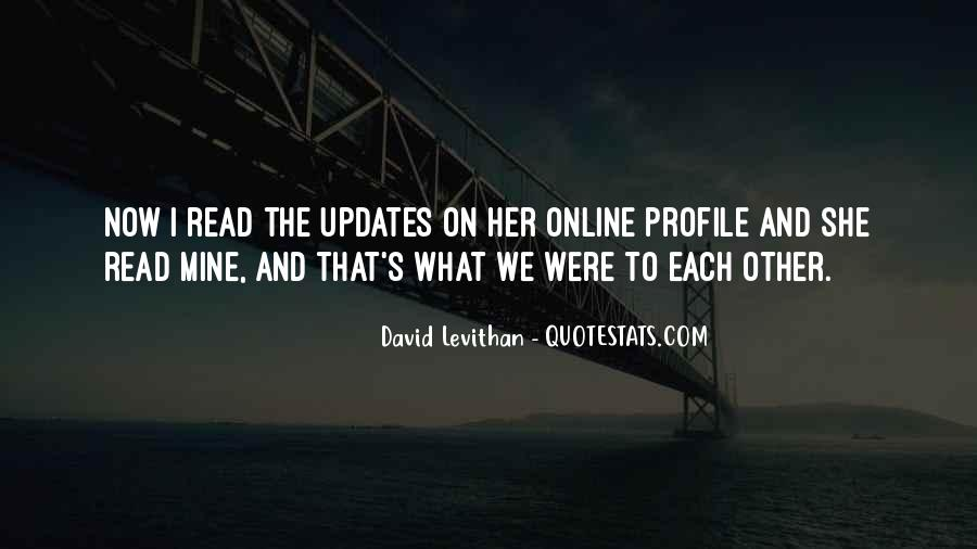 Quotes About Updates #70849