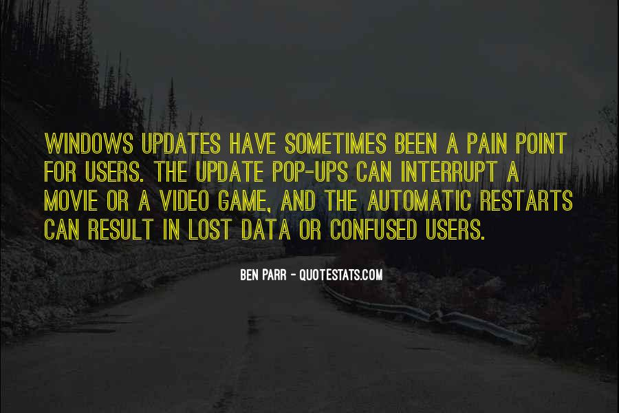 Quotes About Updates #754498