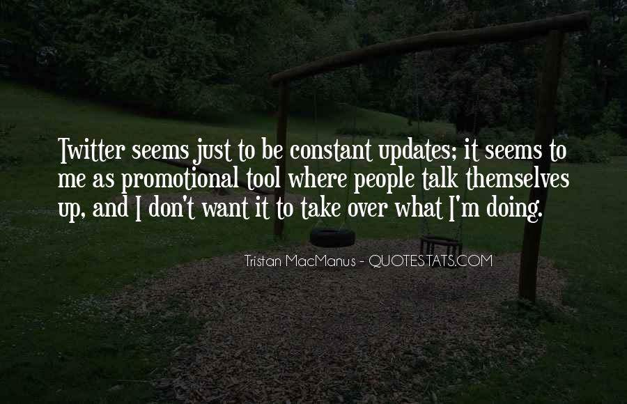 Quotes About Updates #8791