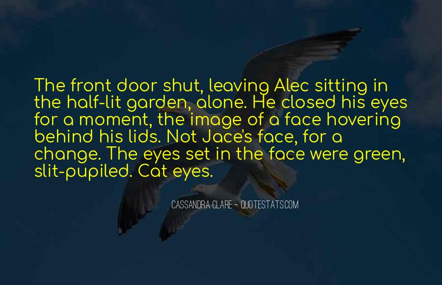 Quotes About A Cat's Eyes #1128132