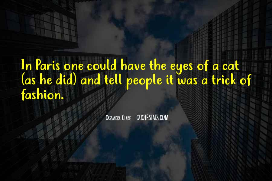 Quotes About A Cat's Eyes #1313196