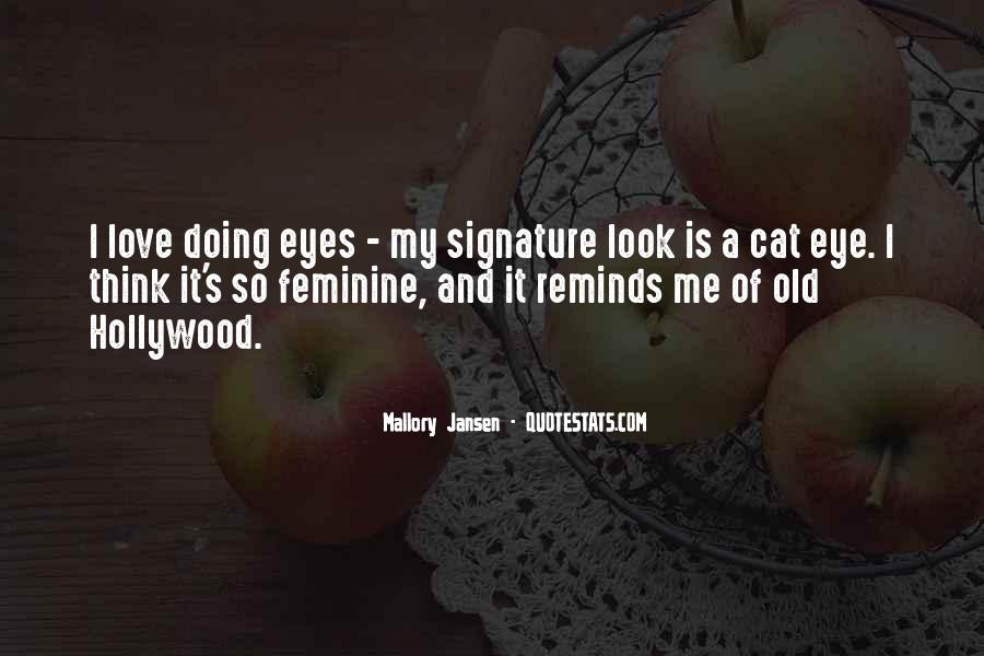 Quotes About A Cat's Eyes #753467