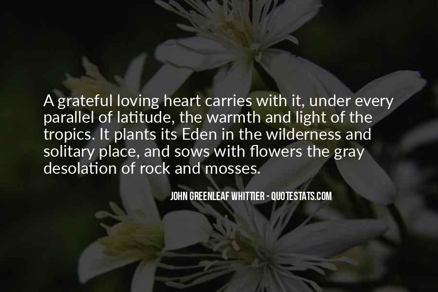 Quotes About Heart And Flowers #1195866