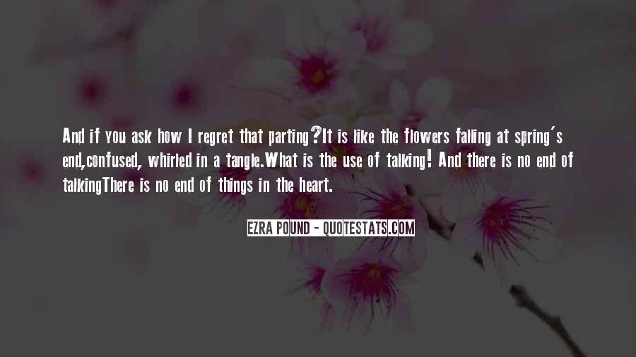 Quotes About Heart And Flowers #157998