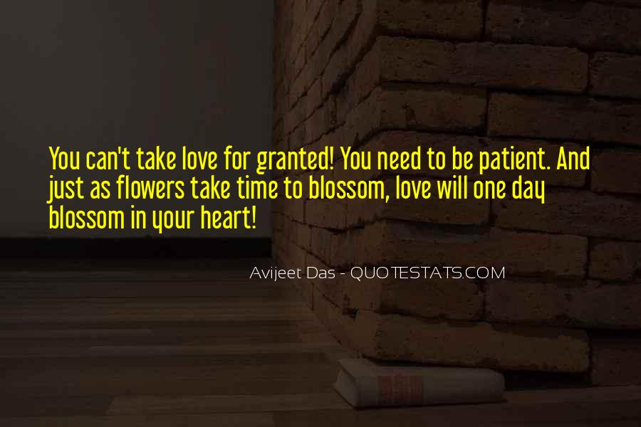 Quotes About Heart And Flowers #683441