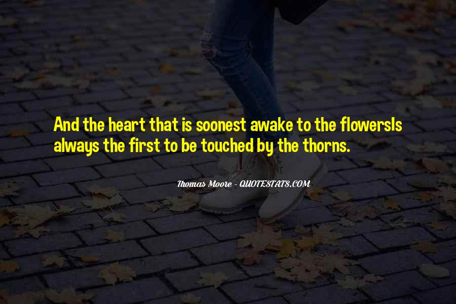 Quotes About Heart And Flowers #795957