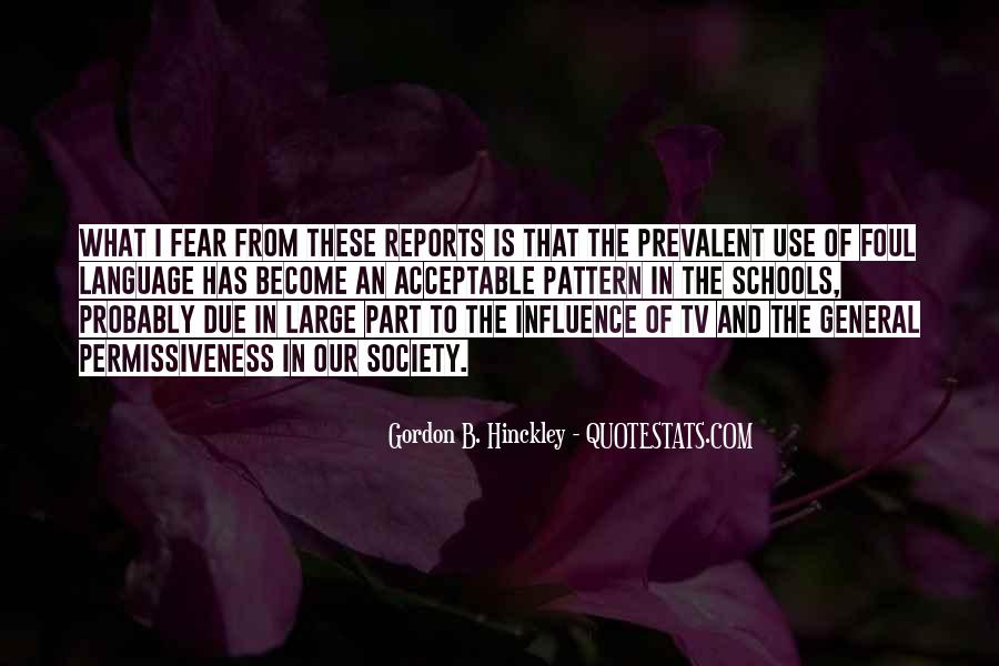 Quotes About Influence Of Tv #1780117